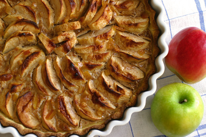 Heart Healthy Apple Pie with Oatmeal Crust