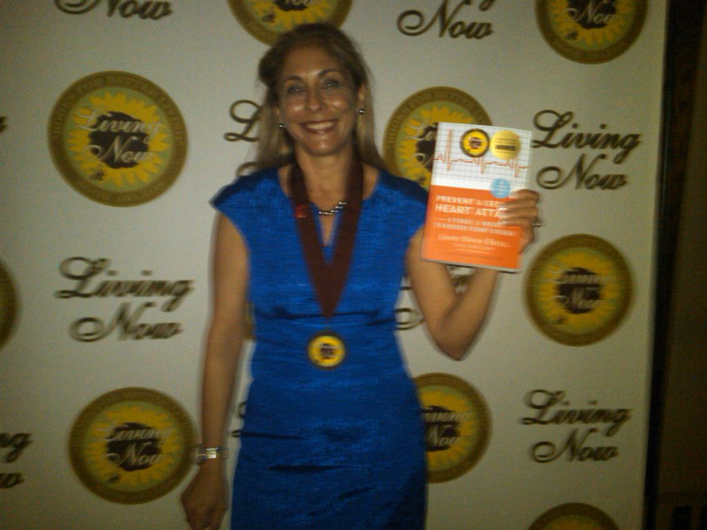 My 2011 Gold Medal Living Now Book Award!