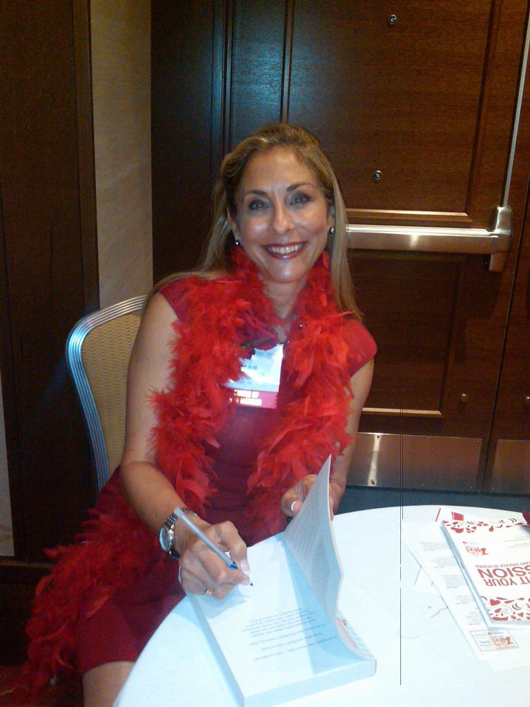 Go Red Book Signing!