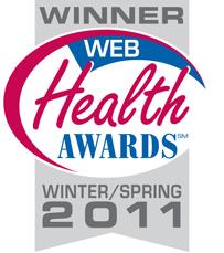 My Web Health Award!