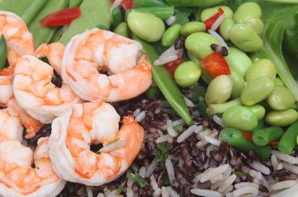 Asian Shrimp and Tofu Stir Fry