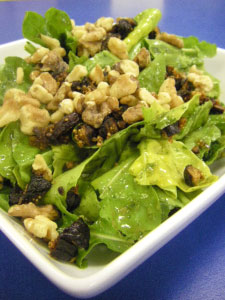 Arugula Salad with Figs and Walnuts