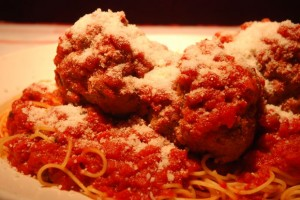 Pasta Casserole with Meatballs