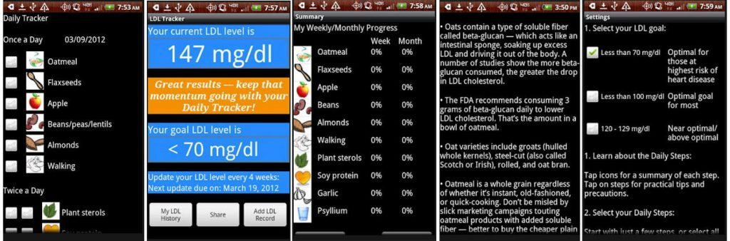 Cholesterol Down Adroid App