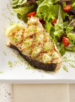 Include heart healthy fish in your daily diet.