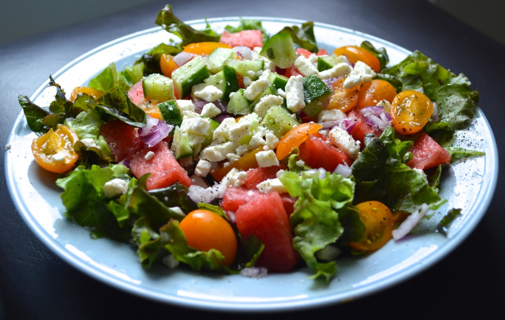 Watermelon Feta Salad – Nutritious & Low Cholesterol