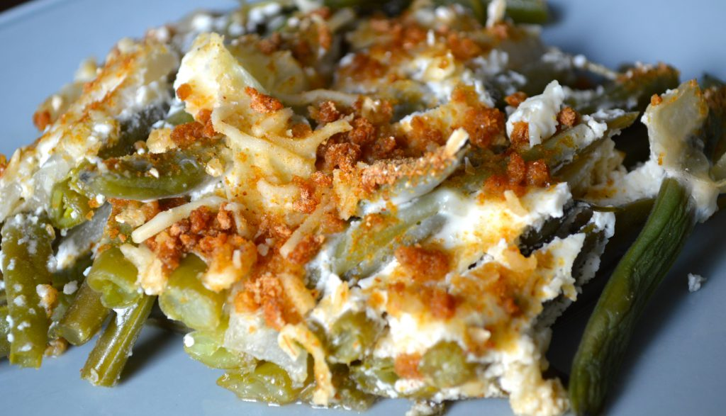Low Cholesterol Recipe of Green Bean Casserole – A Thanksgiving Classic Dish