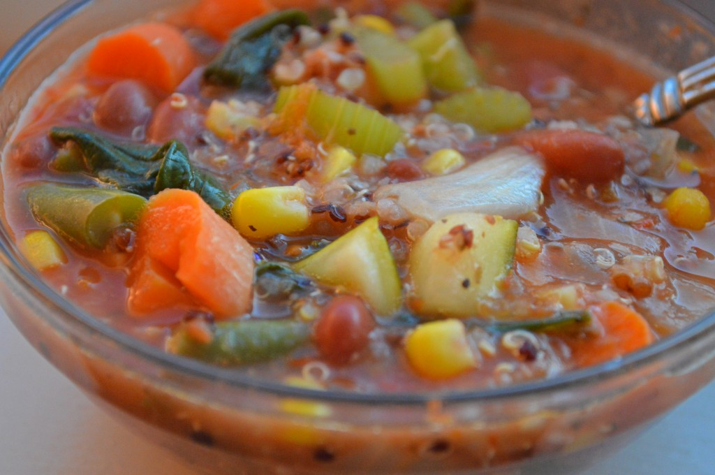 Zero Cholesterol Recipe Of Quinoa Minestrone Soup