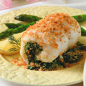 Incredibly Low-Calorie Tuscany Stuffed Fish Fillets
