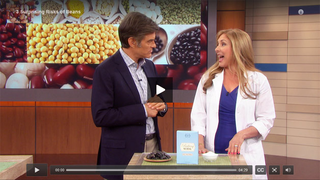 3 Great Tips to Avoid Surprising Health Risks of Beans: Dr. Janet on the Dr. Oz Show