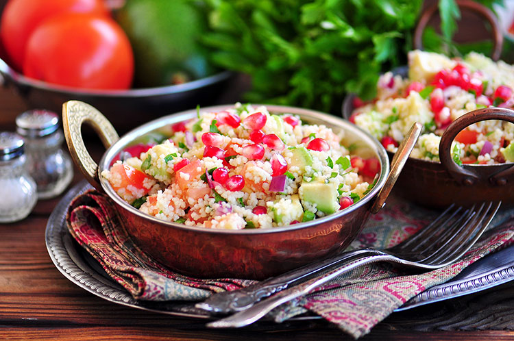 Couscous Red Bean Salad